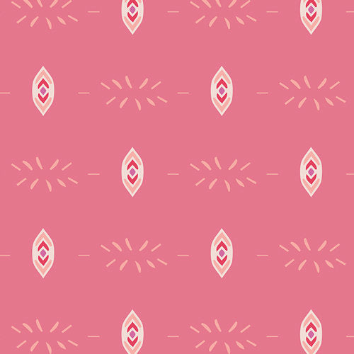 Flower Child in Flicker & Fade Blush by Maureen Cracknell for Art Gallery Fabrics