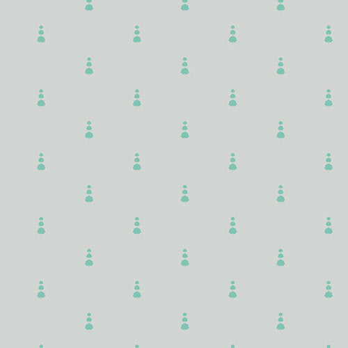 Loved to Pieces in Topiary Frost by Mister Domestic for Art Gallery Fabrics