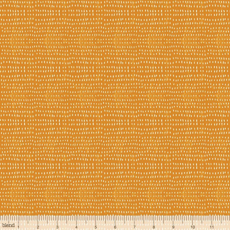 Seeds in Tangerine by Cori Dantini from Blend Fabrics