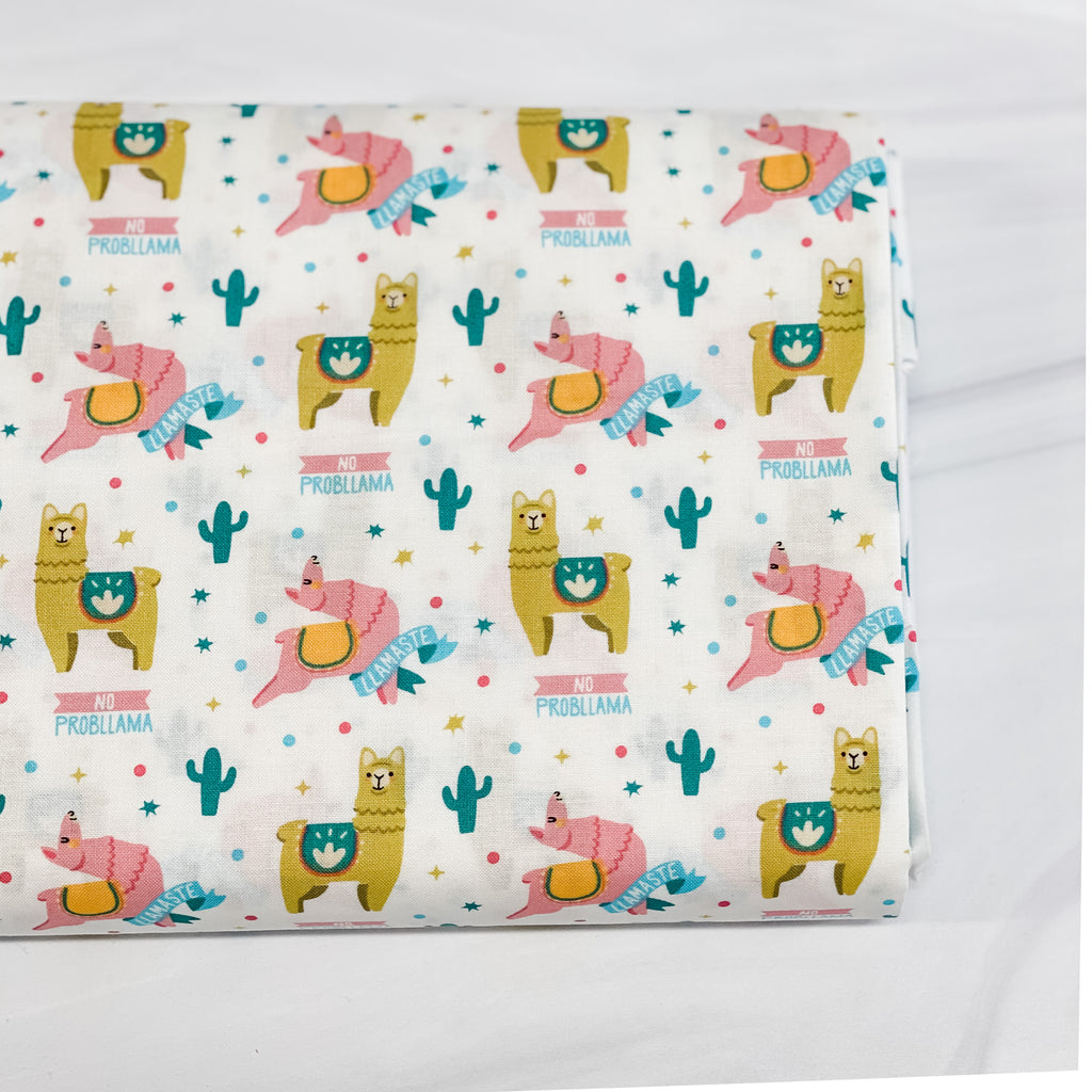 Llamas from Very Punny for Camelot Fabrics