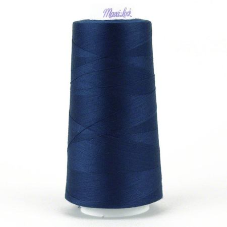 MaxiLock Serger Thread - MEDIUM NAVY