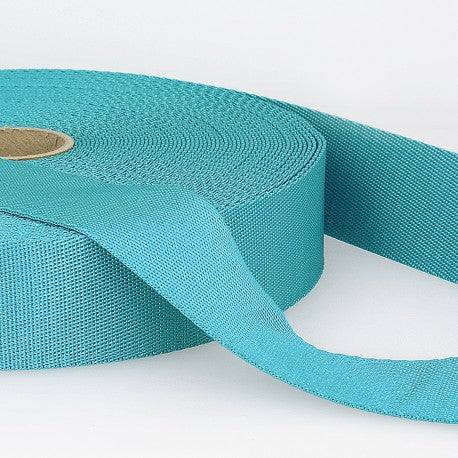 Polyester Webbing - 35mm - Turquoise