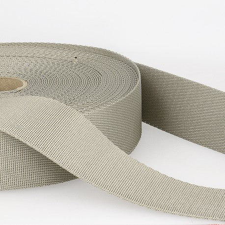 Polyester Webbing - 35mm - Medium Gray