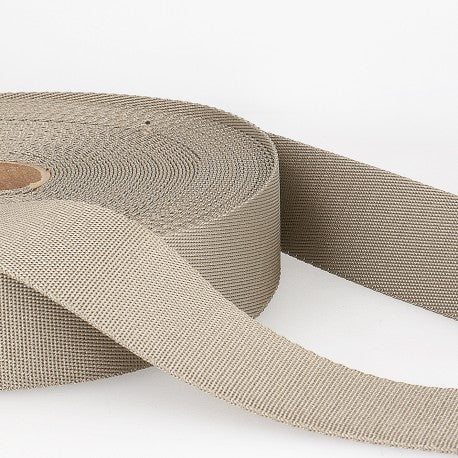 Polyester Webbing - 35mm - Taupe