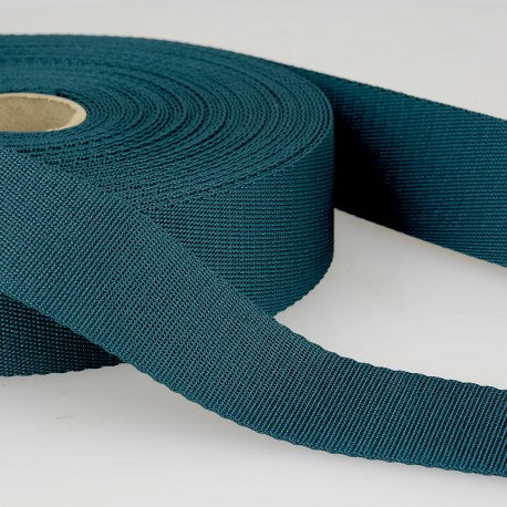 Polyester Webbing - 35mm - Duck Blue