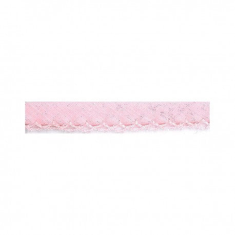 Prefolded Bias Picot Edge - Light Pink