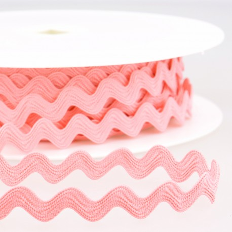 Pink Rick Rack - Rick Rack Trim - SOLD BY THE YARD