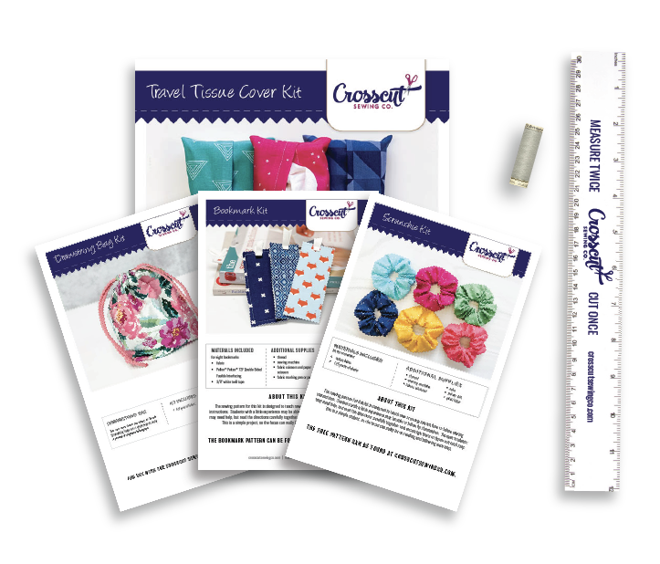 Beginner Sewing Workshop Supply Kit Bundle