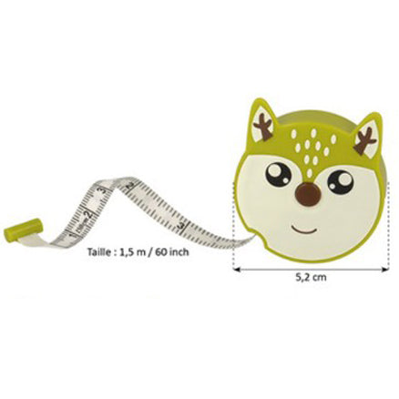 Woodland Animal Tape Measures - Deer