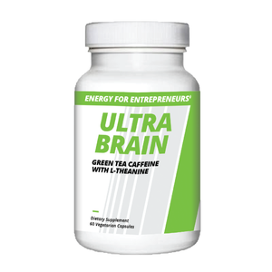 ULTRA BRAIN: Green Tea Caffeine with L-Theanine