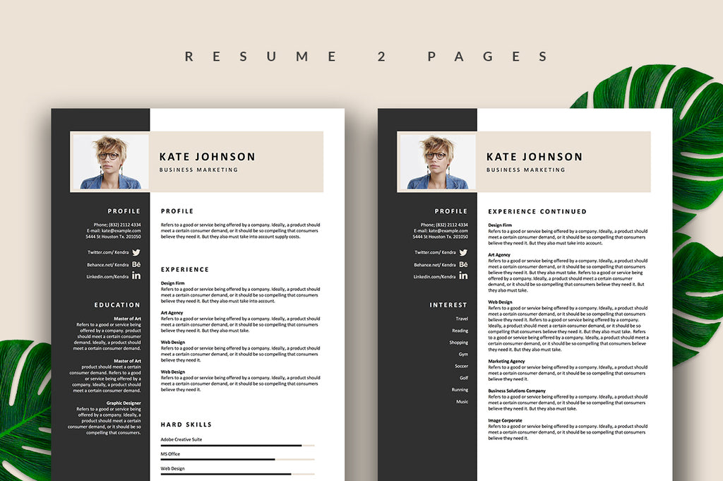Eliza Resume Template