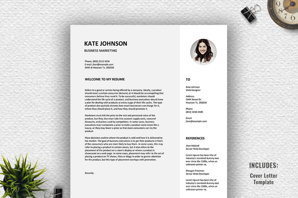 Feroa Resume Template