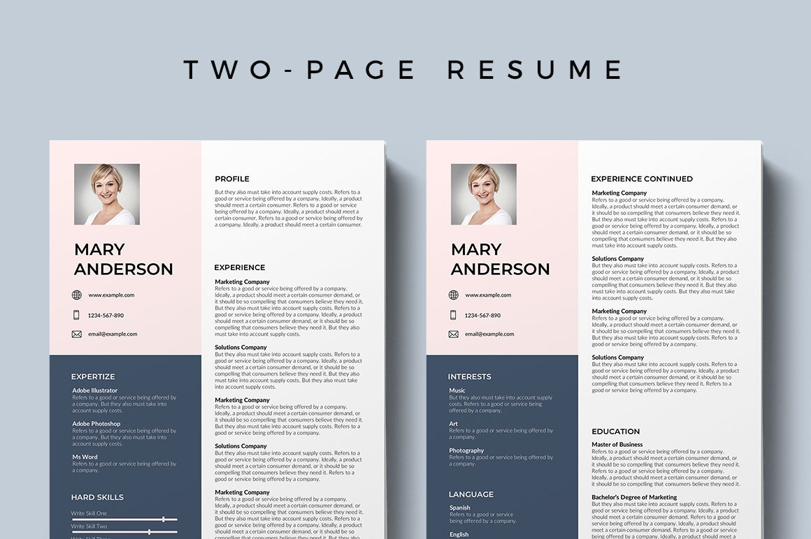 Aries Resume Template