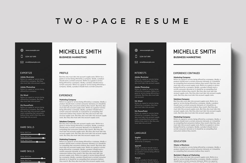 Cergy Resume Template