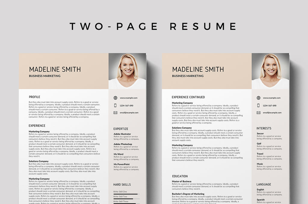 Beauvais Resume Template
