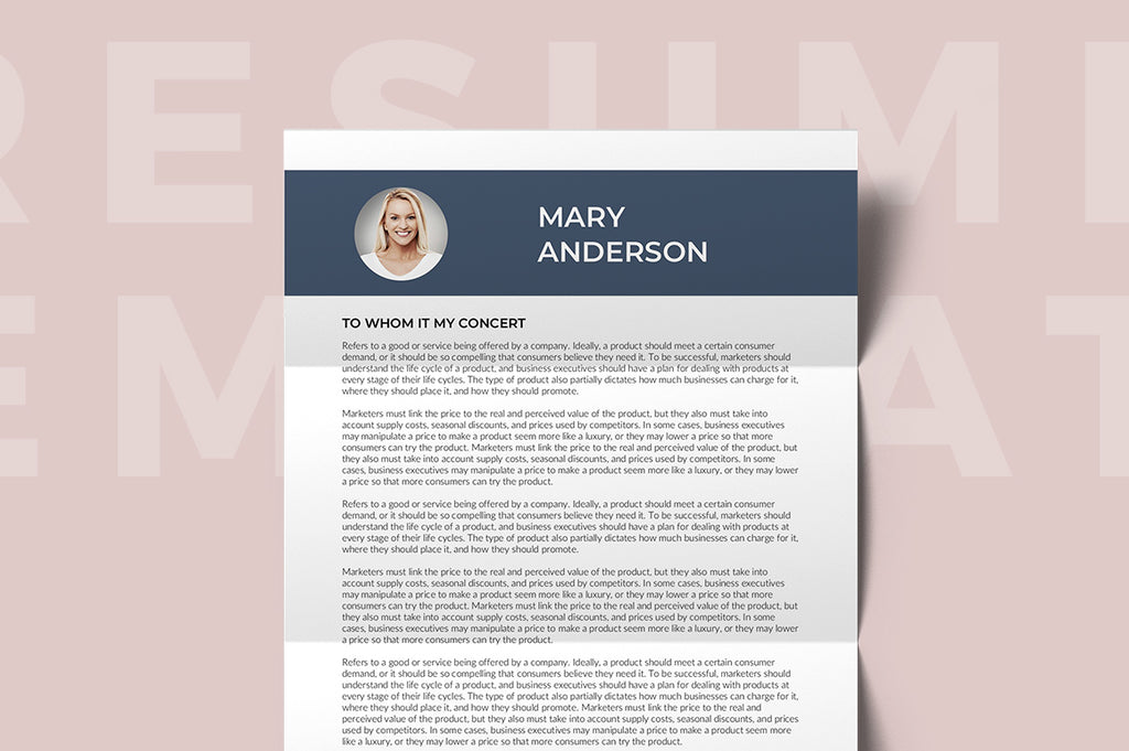 Cayenne Resume Template