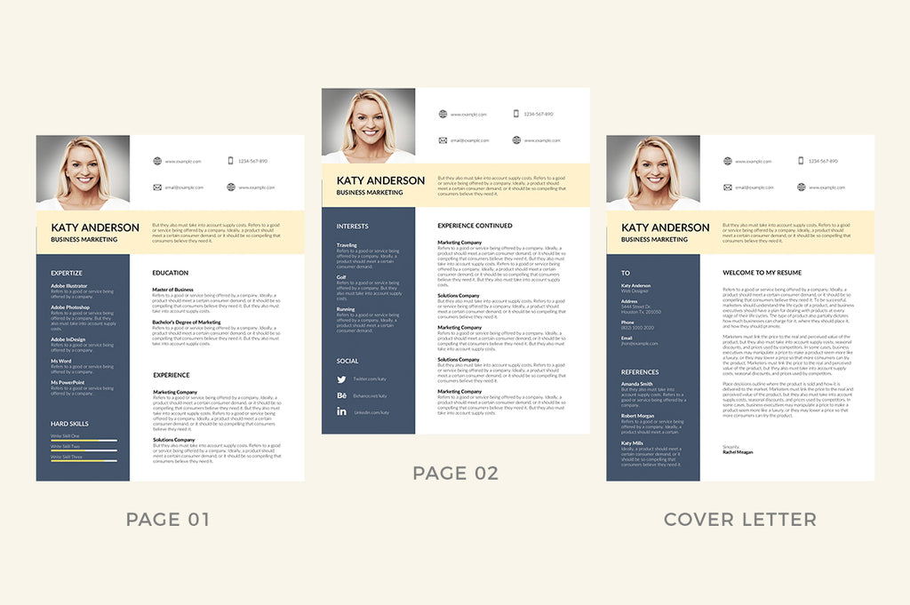 Rennes Resume Template