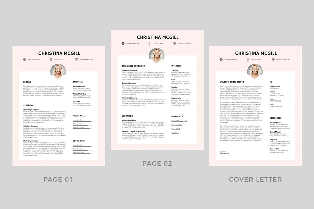 Toulon Resume Template