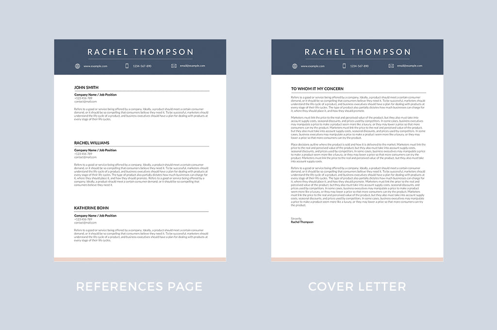 Rochelle Resume Template