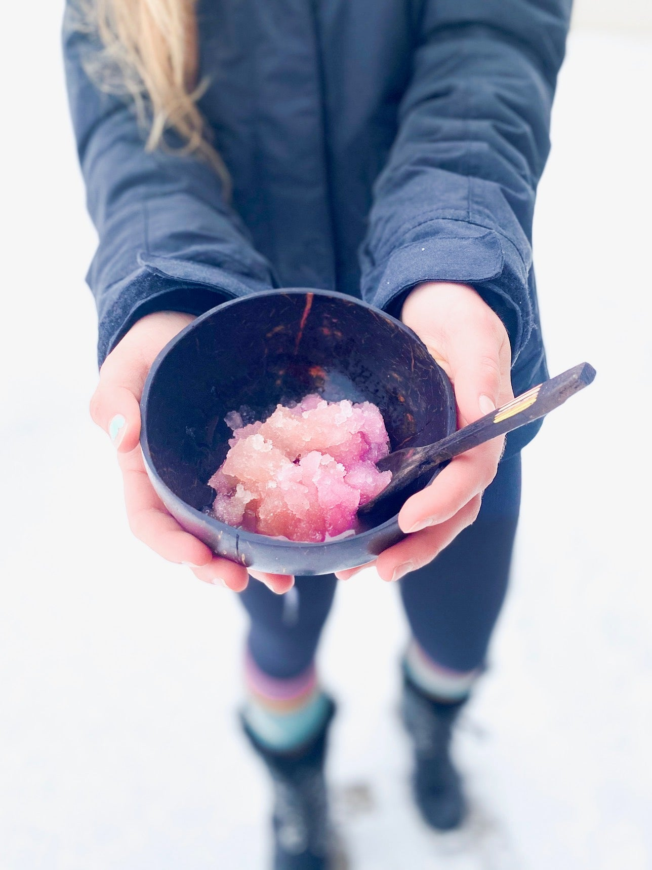 Gut Healthy Shaved Ice.