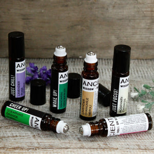 Essential oil roll on - Get Physical - I Spy A Simple Life