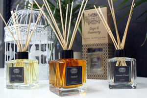Natural Reed Diffusers - Pure Petitgrain & Rosewood Essential Oils - I Spy A Simple Life
