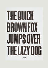 Indlæs billede til gallerivisning The Quick Brown Fox - Black