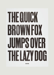 The Quick Brown Fox - Black