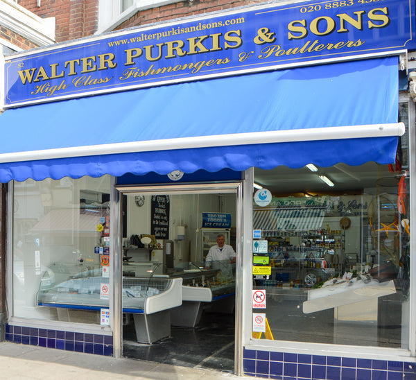 Walter Purkis and Sons Fishmongers Muswell Hill