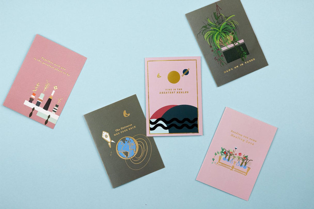 Kindness greeeting cards Type & Story
