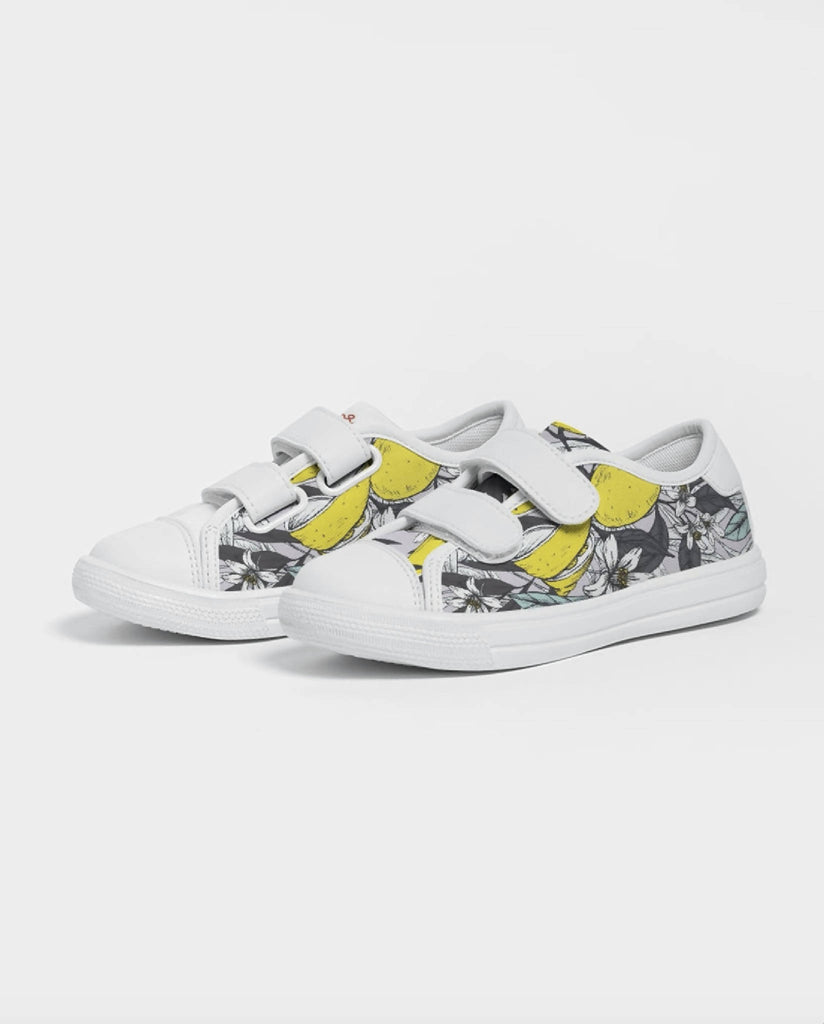 Jellyjaws. Citrus - Kids Unisex Velcro Sneakers