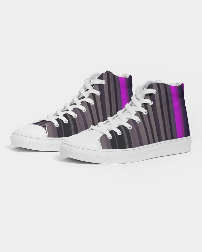 Jellyjaws. UltraViolet - Men's Hightop Sneakers