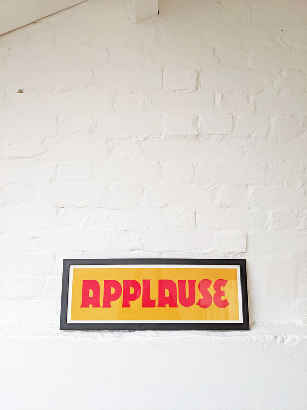 Applause Print