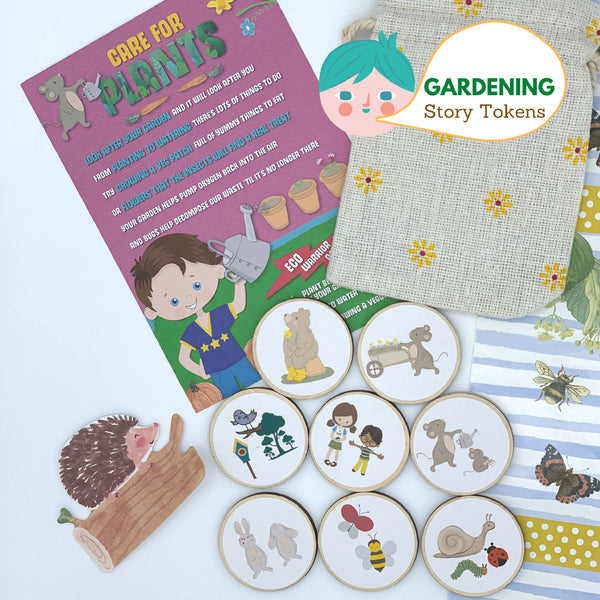 """In the Garden"" Story-Telling Tokens"