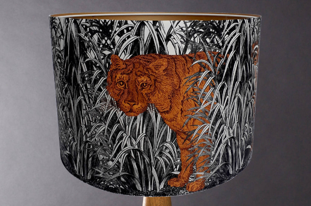 Burning Bright - Tiger Lampshade