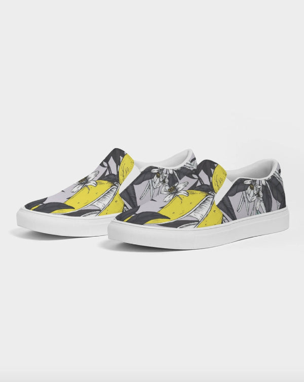 Jellyjaws. Citrus - Men's Slip on Canvas Shoes
