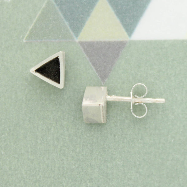 Stud Earrings (Triangle, Square or Circle Options)