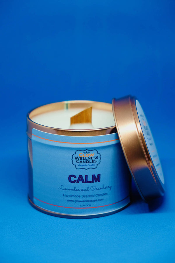Calm Scented Candle Travel Tin 25cl