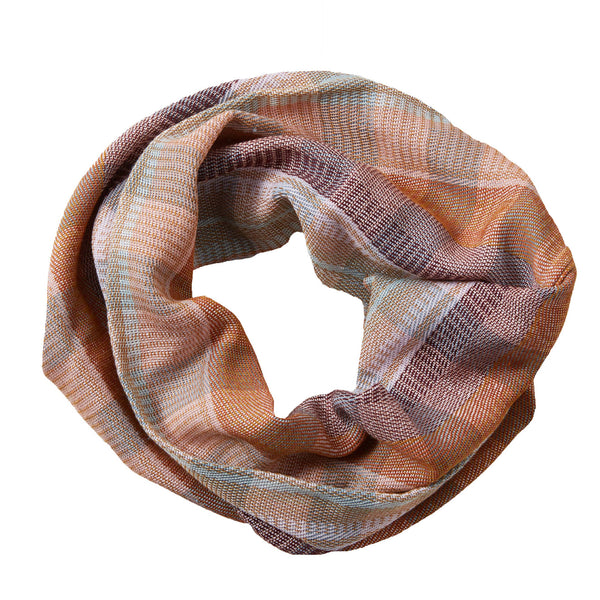 Lightweight Cotton Snood Barbican Rust