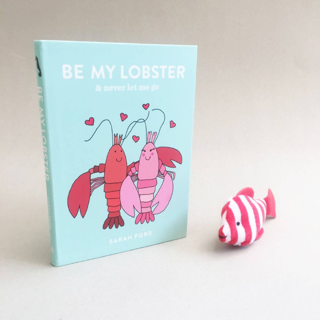 'Be My Lobster' Illustrated Book