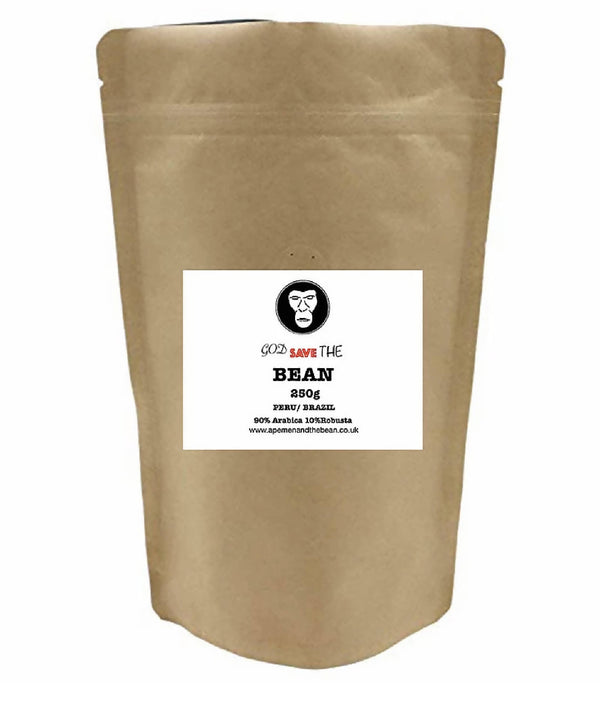 "250g ""God Save The Bean"" Coffee Beans"