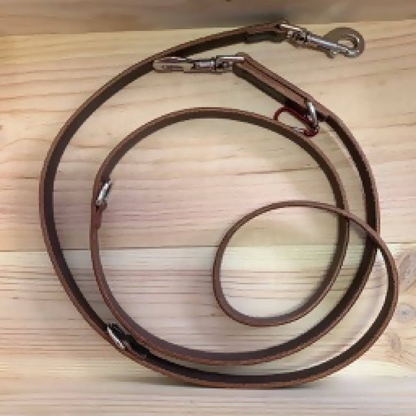 Leather Dog Training Lead (Made To Order)