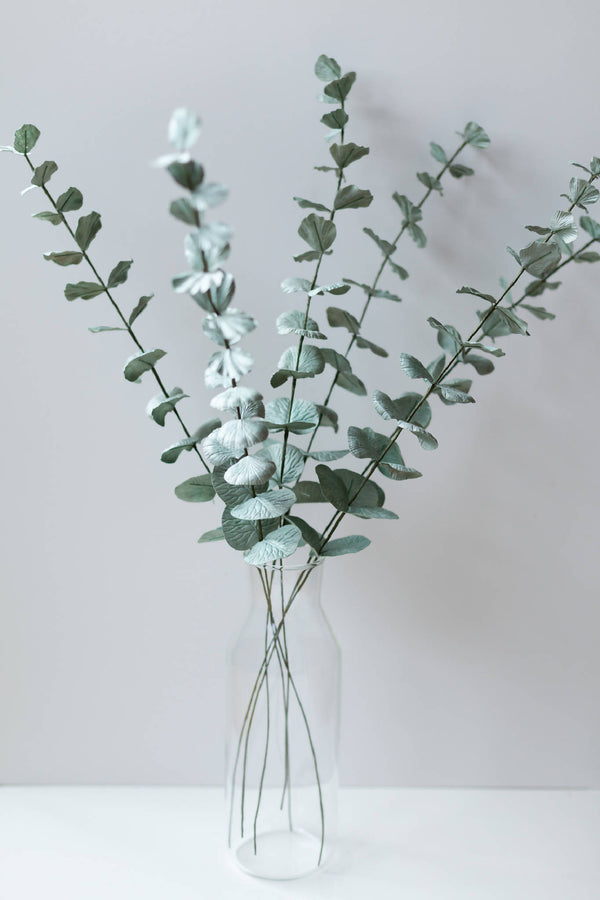 Paper Flower Bunch of Eucalyptus