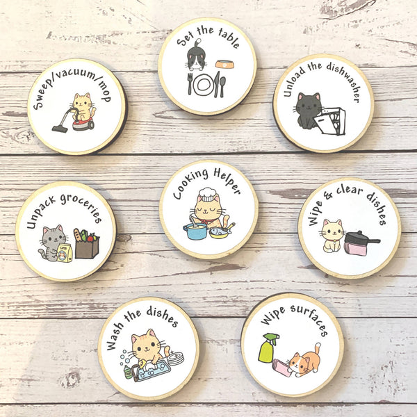 Kitchen Helpers Activity Tokens