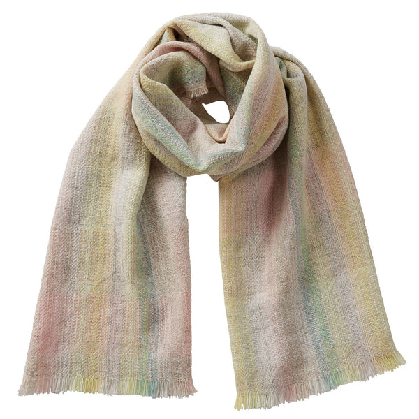 Merino Wool Oversized Scarf Claire Sorbet