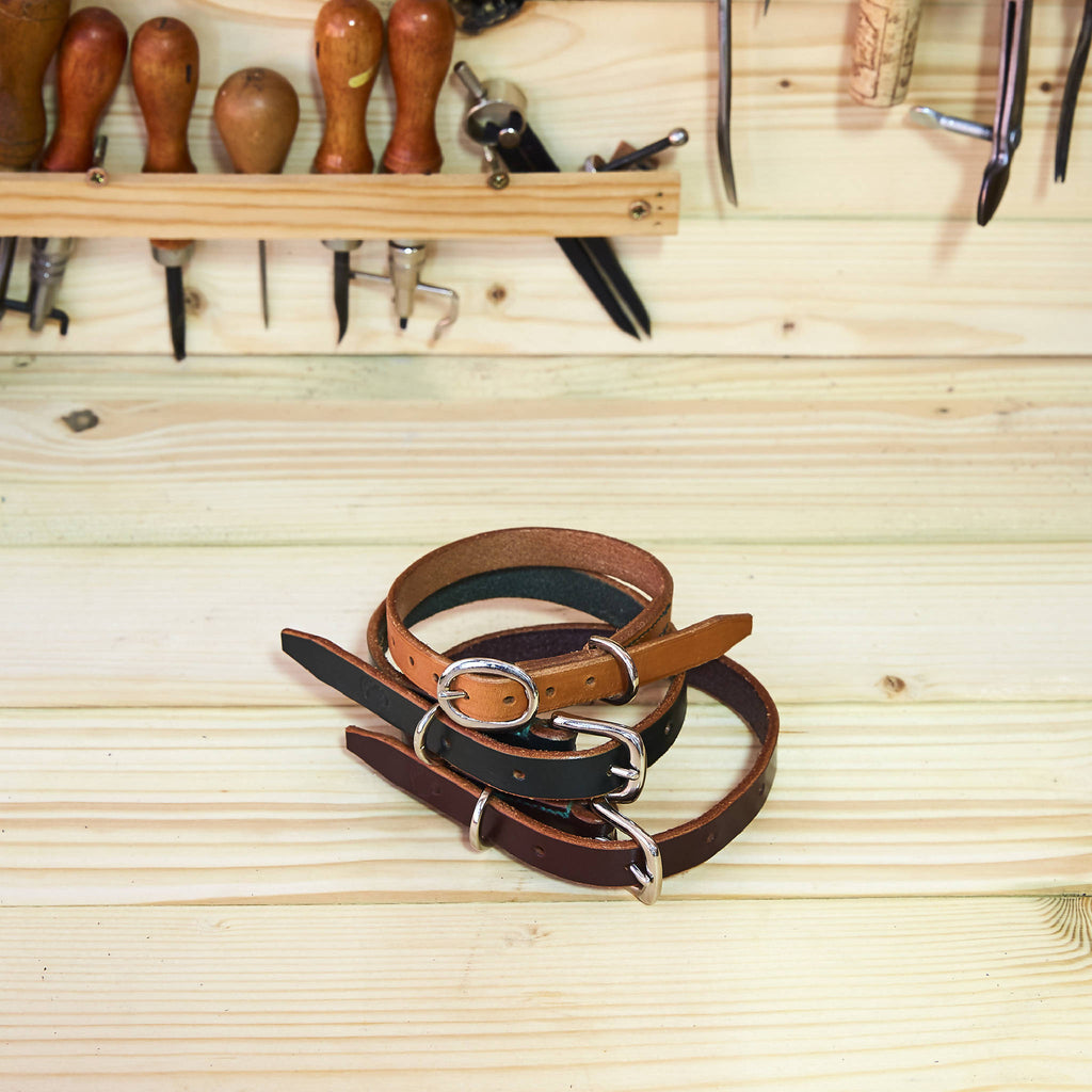 Leather Dog Collar (Made To Order)