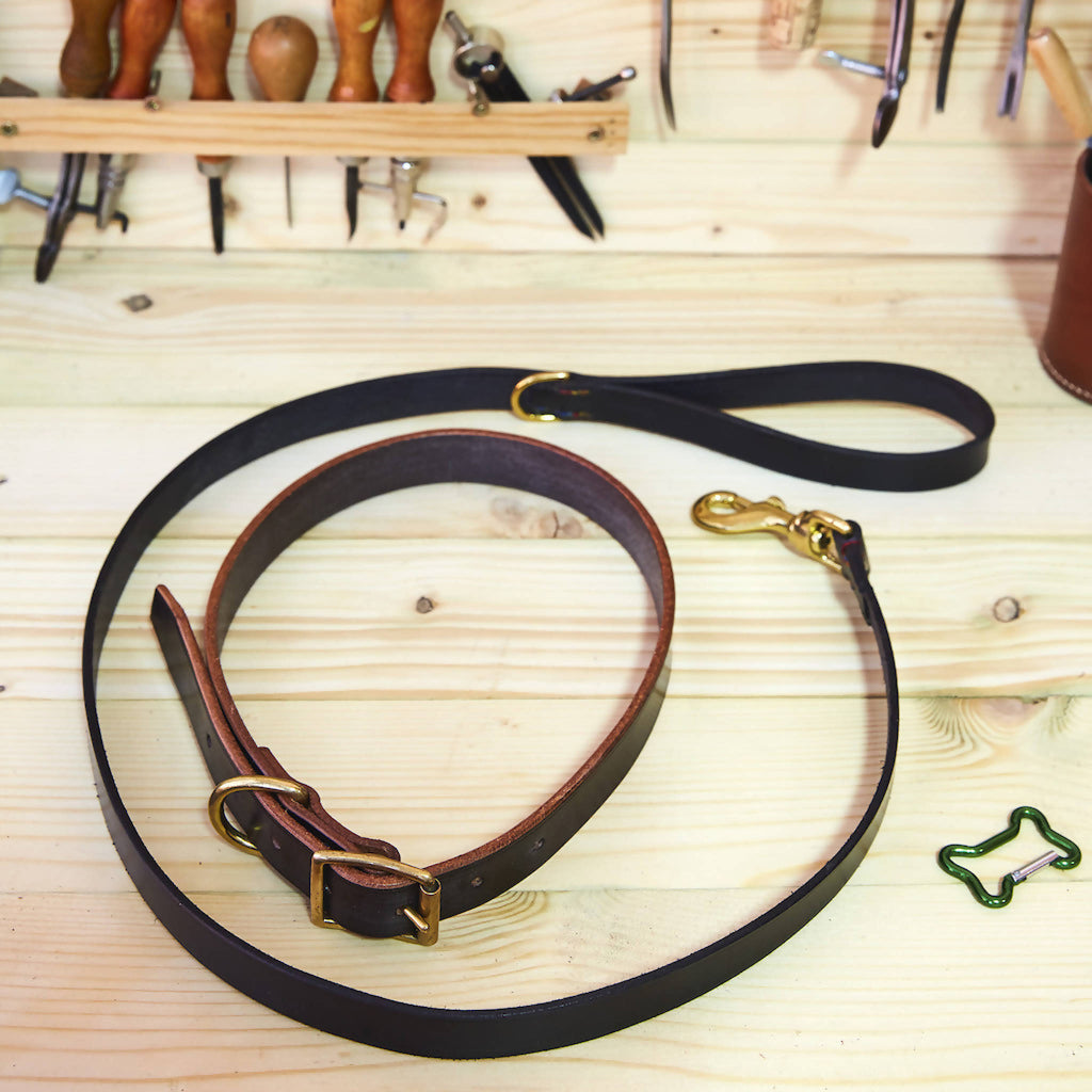 Leather Dog Lead (Made To Order)
