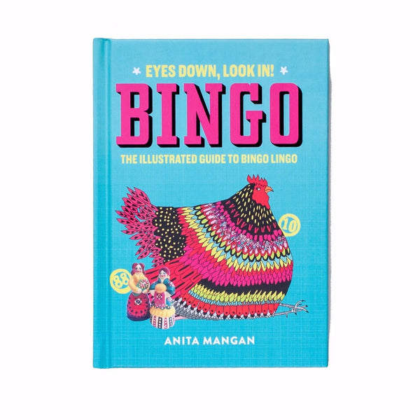book about bingo and the stories behind the rhymes and references of the numbers