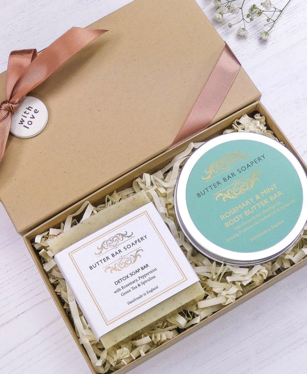 soap and facemask duo gift set