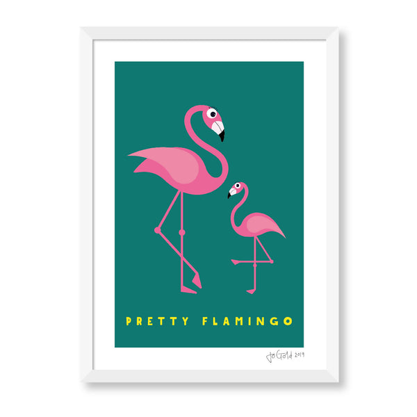 Pretty Flamingo Print